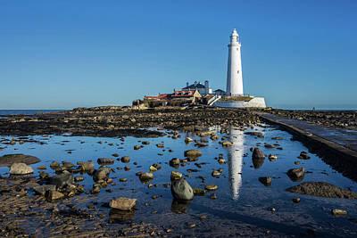 Photograph - Lighthouse Reflection by David Pringle