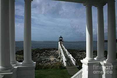 Photograph - Lighthouse by Timothy Johnson