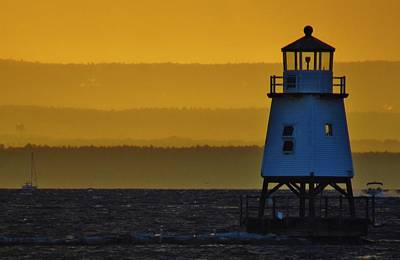Photograph - Lighthouse by Todd Rojecki