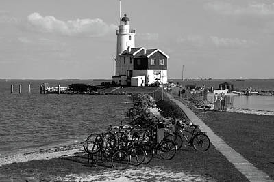 Photograph - Lighthouses Of The Netherlands by Aidan Moran