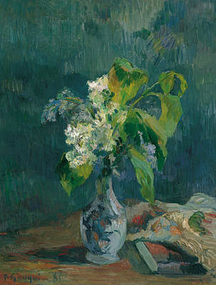 Painting - Lilacs by Paul Gauguin