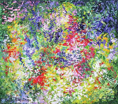 Painting - Lilah Garden-1 by Betty Rubinstein