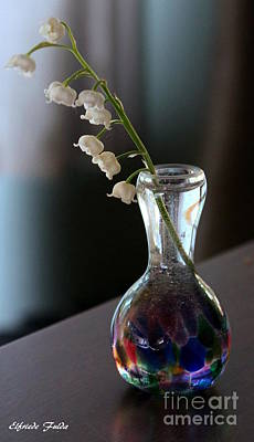 Photograph - Lily Of The Valley by Elfriede Fulda