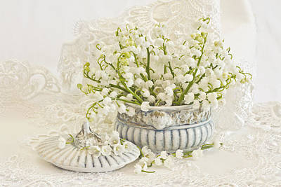 Kitchen Photograph - Lily Of The Valley  by Sandra Foster