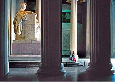 Lincoln Memorial Art Print by Dennis Cox