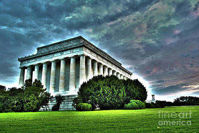 Politicians Royalty-Free and Rights-Managed Images - Lincoln Memorial in Washington DC by ELITE IMAGE photography By Chad McDermott