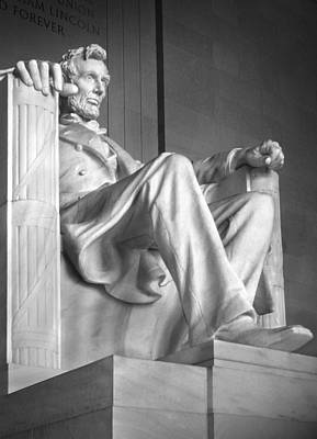 Landmarks Royalty-Free and Rights-Managed Images - Lincoln Memorial by Mike McGlothlen