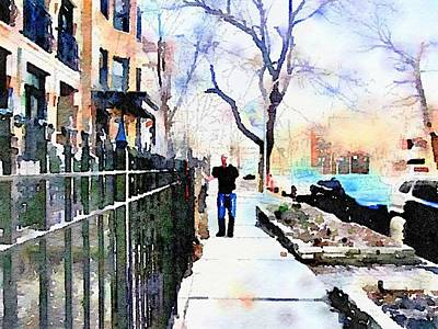Lincoln Park Water Color Art Print