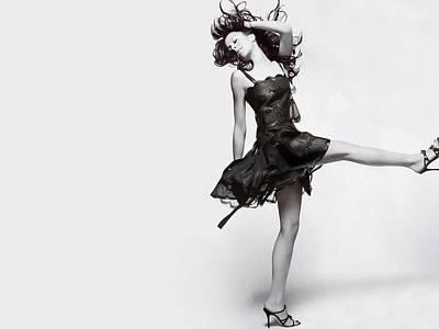 Graphic Digital Art - Lindsay Lohan by Maye Loeser