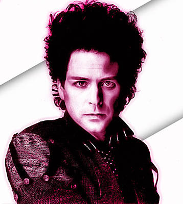 Lindsey Buckingham Collection Art Print by Marvin Blaine