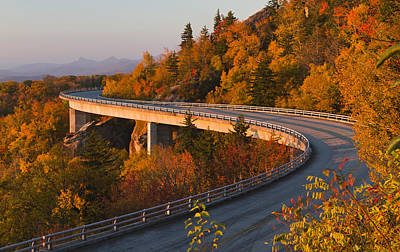 Photograph - Linn Cove Viaduct On The Blue Ridge Parkway by Pierre Leclerc Photography