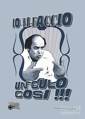 Lino Digital Art - Lino Banfi Expression by Italian Funny Movies