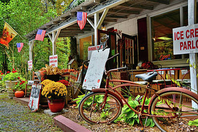 Photograph - Linville River Mercantile by Ben Prepelka