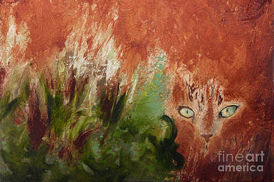 Painting - Lionesque by Sandra Silva