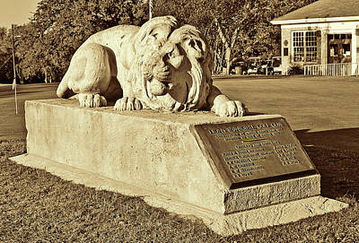 Golf Statues Photograph - Lions Golf Course I I by Jim Smith