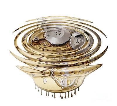 Digital Art - Liquefied Clockwork by Michal Boubin
