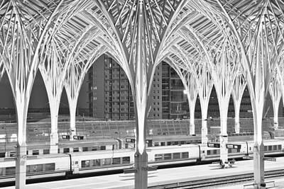Photograph - Lisbon Oriente Station by Marek Stepan