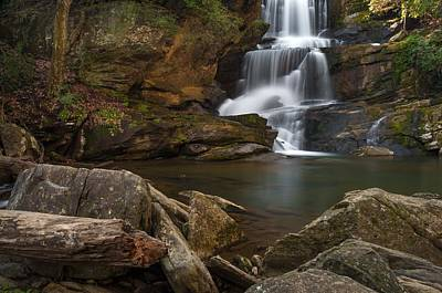 Photograph - Little Bradley Falls by Reid Northrup