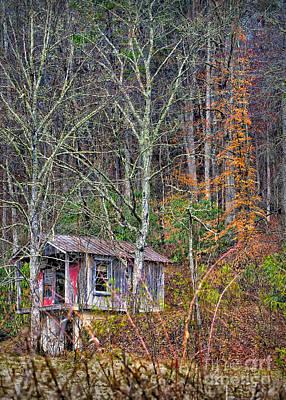 Photograph - Little Cabin In The Woods 2 by Walt Foegelle