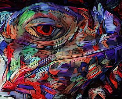 Digital Art - Little Dragon by Yury Malkov