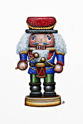 Nutcrackers Painting - Little Drummer Boy by Christina Meeusen