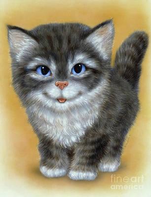 Little Kitten 3 Art Print