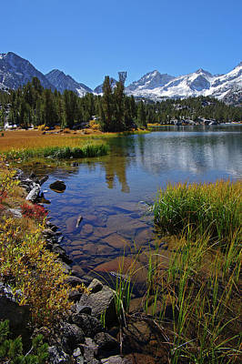 Photograph - Little Lakes Valley 3 by Eastern Sierra Gallery