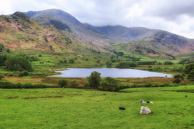 Little Langdale - Lake District Art Print by Joana Kruse