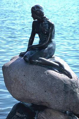 Photograph - Little Mermaid In Copenhagen by Carl Purcell