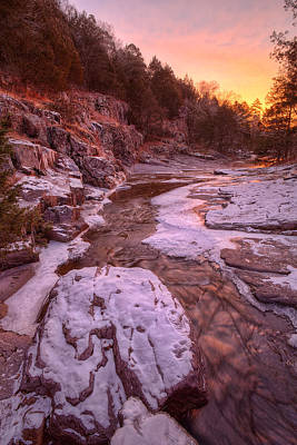 Photograph - Little Rock Creek by Robert Charity