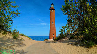 Photograph - Little Sable Point Lighthouse by Michael Rucker