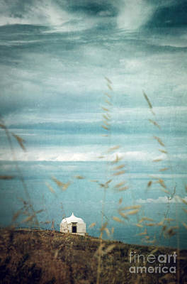 Ruins Photograph - Little White Chapel  by Carlos Caetano