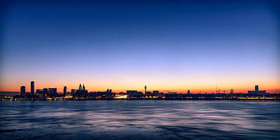 Photograph - Liverpool Skyline by Peter OReilly
