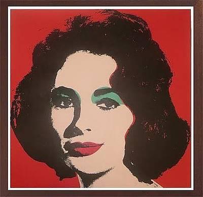 Wonderful Elizabeth Taylor Painting   Liz By Andy Warhol Home Design Ideas