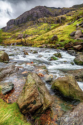 Photograph - Llanberis Pass Snowdonia  by Adrian Evans