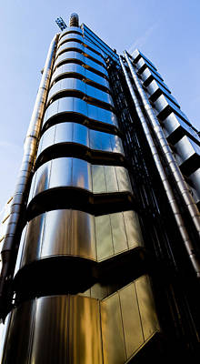 Lloyds Of London  Print by David Pyatt
