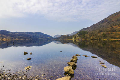 Photograph - Llyn Gwynant by Ian Mitchell