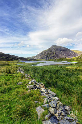 Photograph - Llyn Idwal by Ian Mitchell