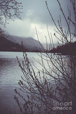 Llyn Padarn Photograph - Llyn Padarn, North Wales Uk by Amanda Elwell