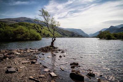 Photograph -  Llyn Peris, Snowdonia National Park by Shirley Mitchell