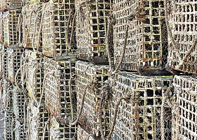 Photograph - Lobster Traps Closeup by Janice Drew
