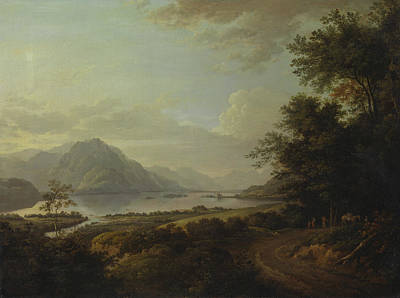 Loch Awe, Argyllshire Art Print