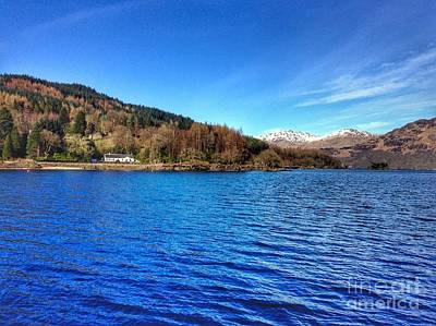 Photograph - Loch Lomond At Tarbet by Joan-Violet Stretch