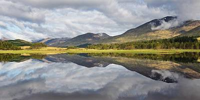 Photograph - Loch Tulla Reflections by Stephen Taylor