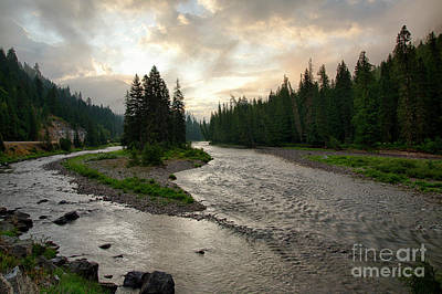 Photograph - Lochsa Dawn by Idaho Scenic Images Linda Lantzy