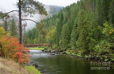 Photograph - Lochsa Mists by Idaho Scenic Images Linda Lantzy
