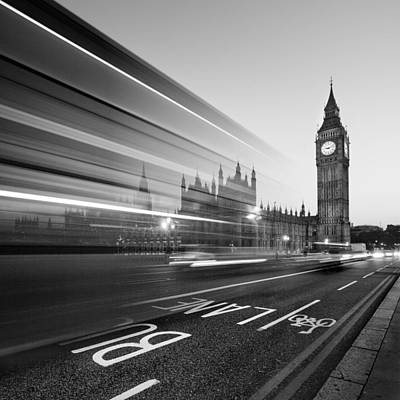 Monument Photograph - London Big Ben by Nina Papiorek