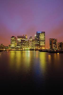 Photograph - London Canary Wharf by Mariusz Czajkowski