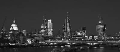 Photograph - London City Skyline by David French