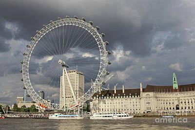 Photograph - London Eye by Julia Gavin